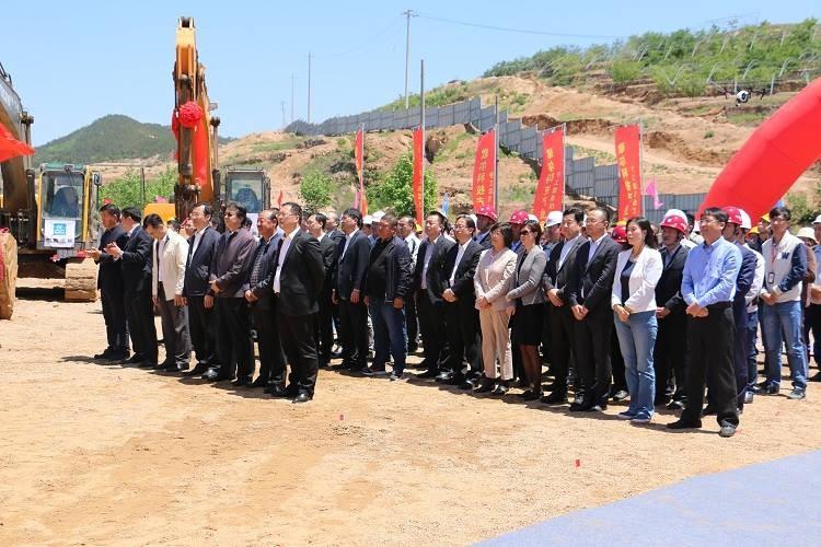 歌尔科技产业项目开工奠基仪式在青岛市崂山区隆重